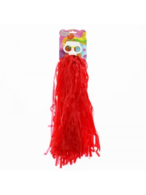Cheering Squad Pom Poms - Red