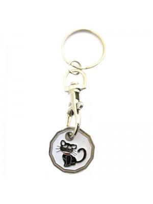Trolley Coin - Black Cat Design