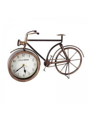 HOMEtime Bicycle Mantel Clock
