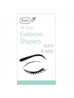 Pretty Eyebrow Shapers - 28 Strips