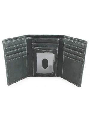 Wholesale Mens Woodbridge RFID Protected Genuine Leather Wallet - Black