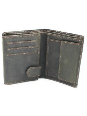 Wholesale Men's Woodbridge RFID Protected Leather Wallet - Brown