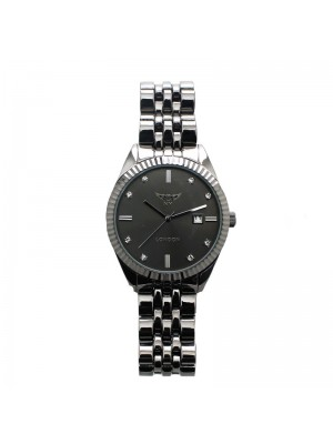 NY London Mens Watch  - Black