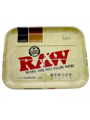 Wholesale RAW Metal Extra Large Xxl Rolling Cigarette Tray (50cm x 39cm)