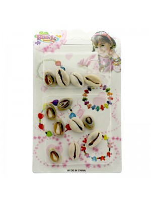 Fashion Beads Shells - Ivory