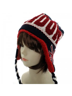 London Union Jack Winter Peruvian Hat