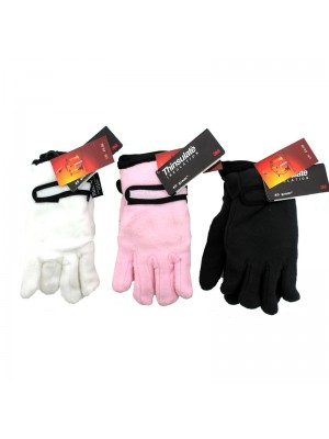 Girls Thinsulate Gloves -  Assorted Colours