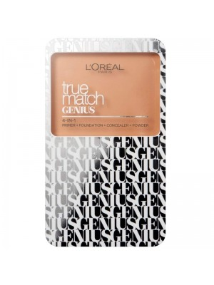 L'Oreal True Match Genius 4-IN-1 Compact Foundation - Assorted