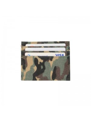 Camouflage Fabric Card Holder - (10x8cm)