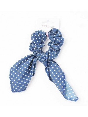 Wholesale Molly & Rose Small - Polka Dot Scrunchie With Short Tails