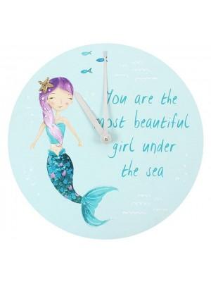 Mermaid Novelty Wall Clock