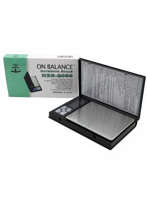 On Balance Notebook Digital Pocket Scale (2000g x 0.1g)