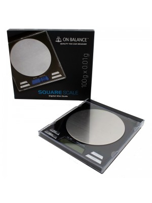 On Balance Square Digital Pocket Scale SS-100 (100g x 0.01g)