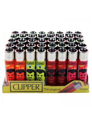 """Clipper Assorted Classic Flint Lighter """"Monkey Town"""""""