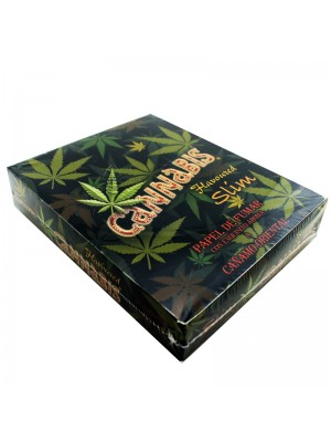 Cannabis Flavoured King Size Slim Rolling Papers