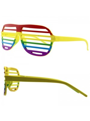 Wholesale Rainbow Shutter Shading Glasses