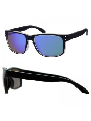 Wholesale Unisex Sport Sunglasses - Black