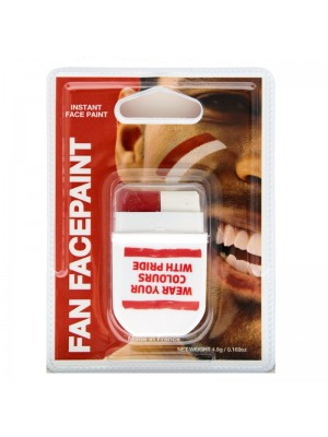 FANBRUSH Face Paint - RED WHITE