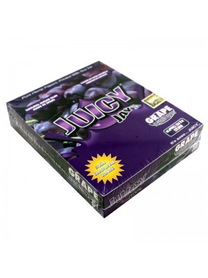 Wholesale Juicy Jay's King Size Slim Flavoured Papers - Grape