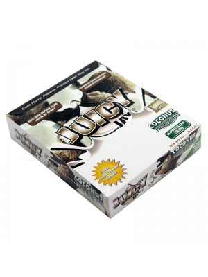 Wholesale Juicy Jay's King Size Slim Flavoured Paper - Coconut