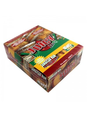 Wholesale Juicy Jay's Big Size Flavoured Rolls - Jamaica Rum
