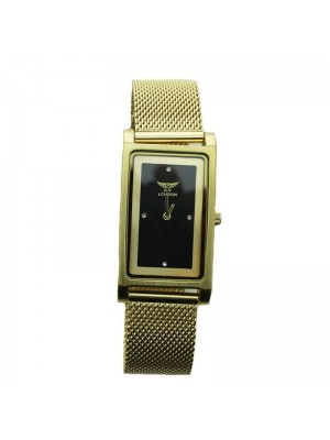 NY London Ladies Watch - Gold and Black