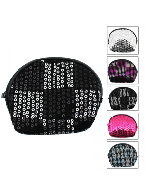 Sequin Coin Purse - Assorted Colours