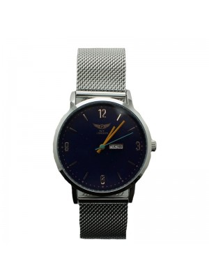 NY London Mens Watch - Silver and Blue