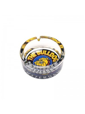 The Bulldog Glass Ashtray - 10cm
