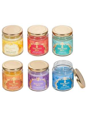Esscents Candle in Glass Jar - Assorted Fragrances