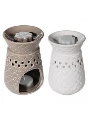 Ceramic Oil Burner - Assorted Colours