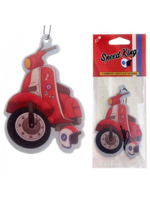 Strawberry Air Fresheners - Retro Speed King