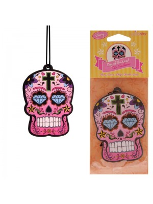Cherry Air Fresheners - Day of the Dead Skull