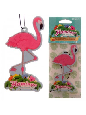 Pina Colada Air Fresheners - Flamingo Design