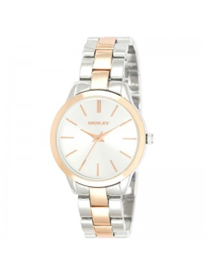 Henley Ladies Fashion Bracelet Watch - Silver/Rose Gold