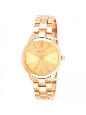 Henley Ladies Fashion Bracelet Watch - Rose Gold