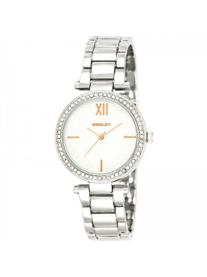 Henley Ladies Classic Bracelet Watch - Silver/Rose Gold