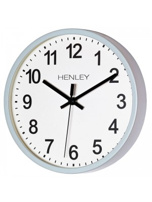 Henley Wall Clock - Blue - 25cm