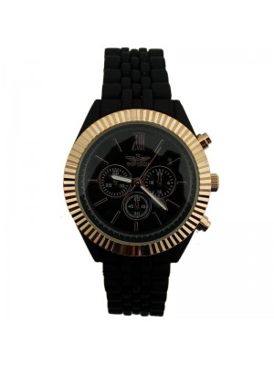 Softech Ladies Fashion Watch - Black/Rose