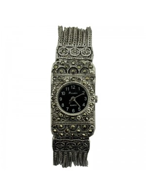Softech Ladies Metal Strap Design Fashion Watch - Silver