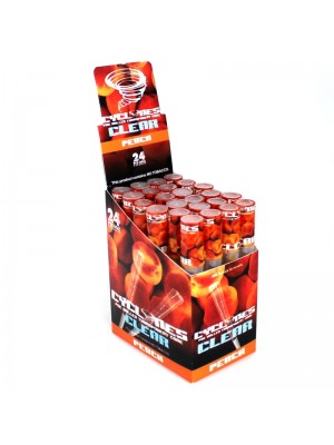 Cyclones Pre Rolled Transparent Flavored Cones - Peach