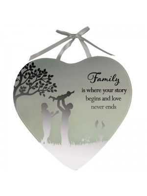 Family Mirror Plaque