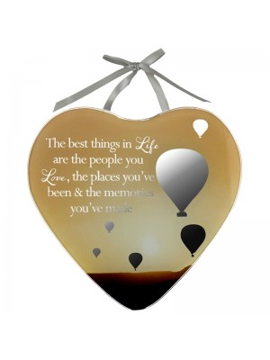 Life Mirror Plaque