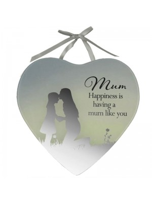 Mum Mirror Plaque