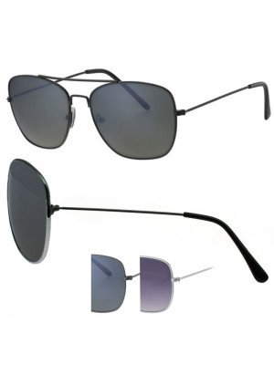 Mens Double Bridge Sunglasses - Assorted Colours