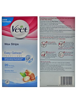 Veet Easy Gelwax Wax Strips (Sensitive Skin)