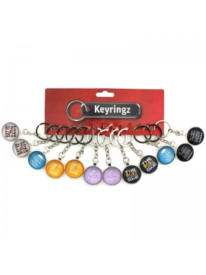 Quote Key Rings - Assorted Designs
