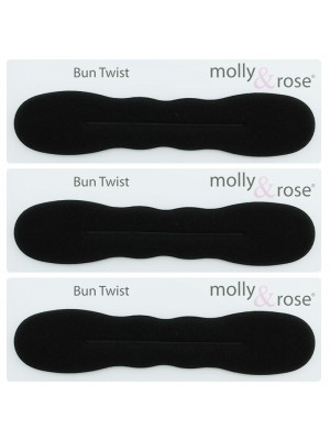 Molly & Rose Bun Twist - Black