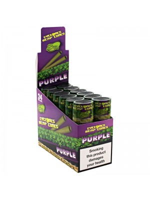 Cyclones Hemp Pre Rolled Cones - Purple