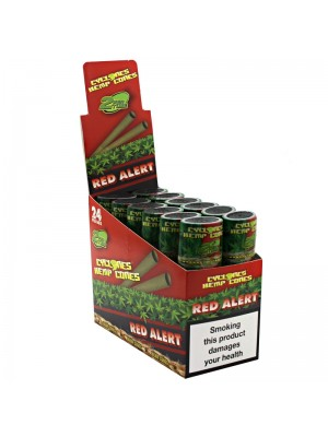 Cyclones Hemp Pre Rolled Cones - Red Alert